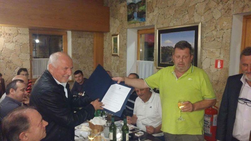 """Željku Oreškoviću""""Macoli"""" uručena iskaznica počasnog člana"""