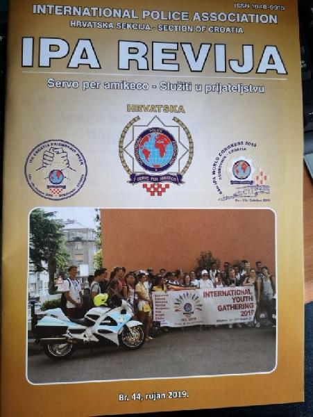 Novi broj IPA REVIJA, br.44, rujan 2019.
