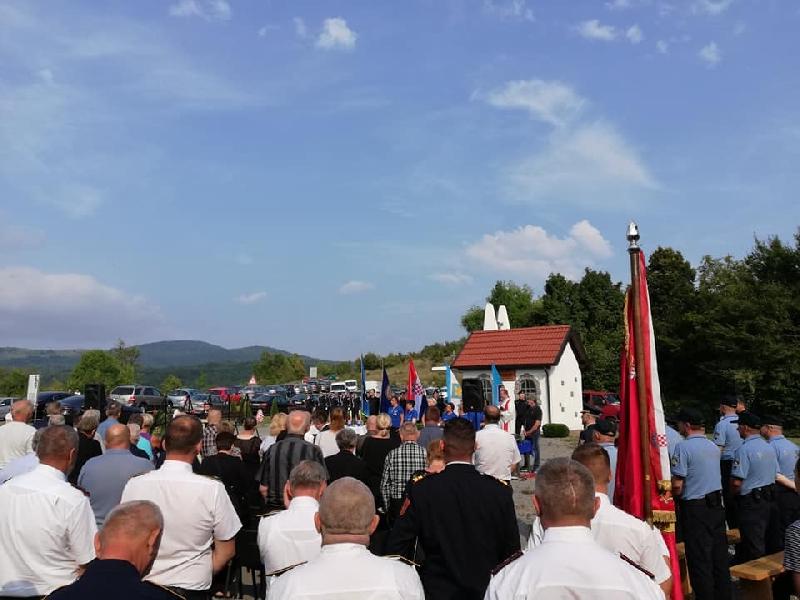 Ministar Davor Božinović prisustvovao obilježavanju 28. godišnjice pogibije četvorice hrvatskih redarstvenika u Žutoj Lokvi