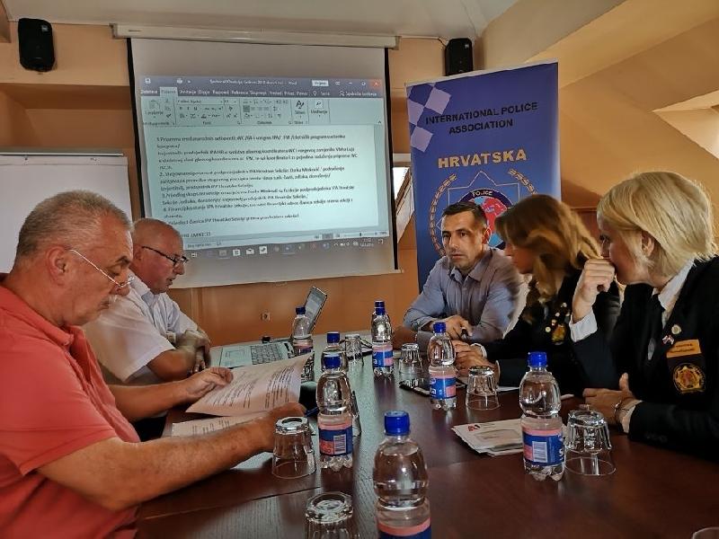 Održana sjednica Upravnog odbora  IPA Hrvatske Sekcije u Karlovcu