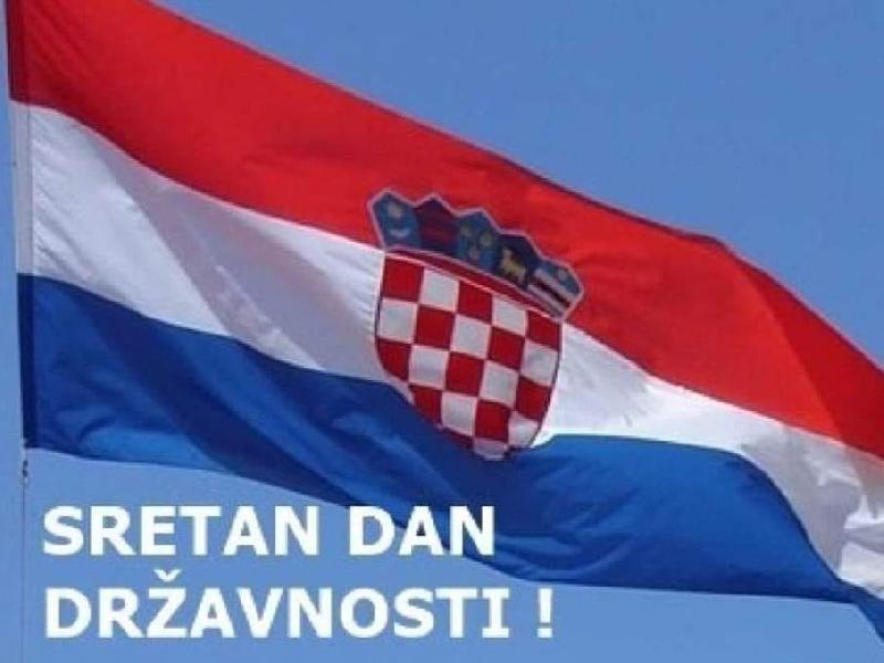Čestitka povodom 30. svibnja - Dana državnosti