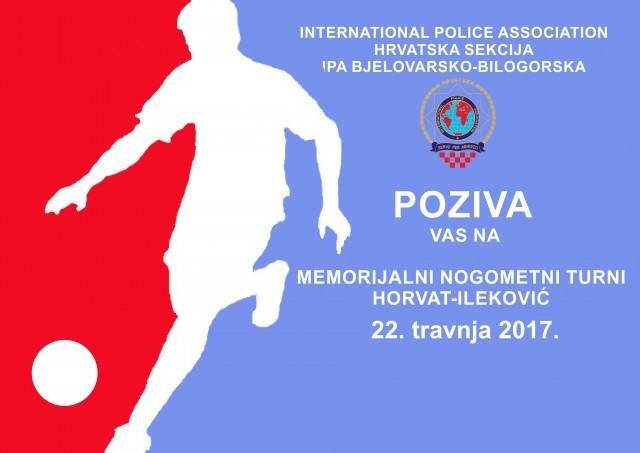 """Memorijalni nogometni turnir """"Horvat-Ileković"""" u Bjelovaru"""