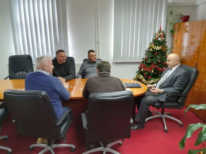 Delegacija IPA Lika na prijamu kod načelnika PU ličko-senjske