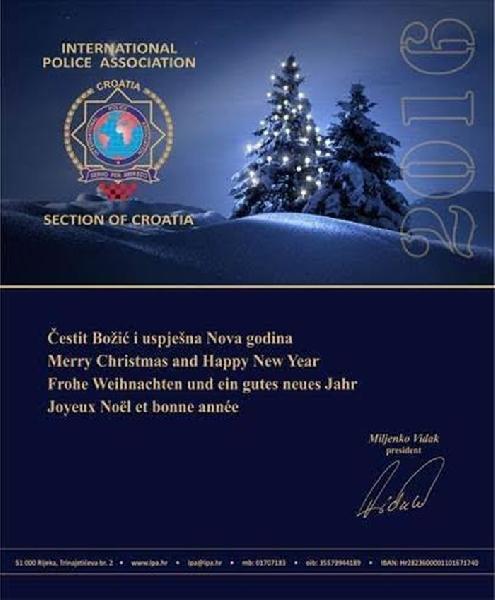 Čestitka predsjednika IPA Sekcija Hrvatska