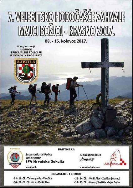 7. velebitsko hodočašće zahvale Majci Božjoj – Krasno 2017.